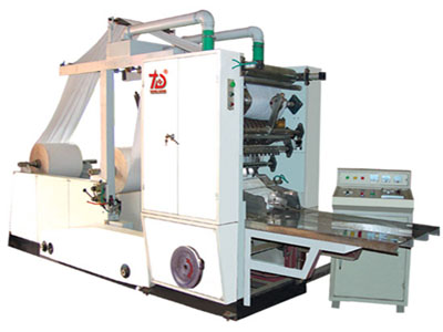 Box-Type Facial Tissue Making Machine