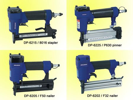 Air Brad Nailer, Pin Nailer, Combi nailer stapler, Nail guns