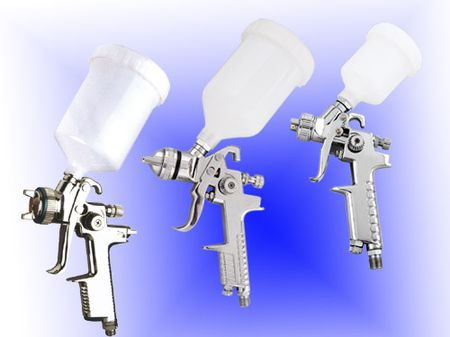 HVLP air spray gun - SATA model