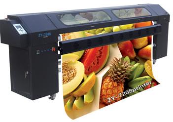 Solvent Printer SK-2506 2.5m 720dpi