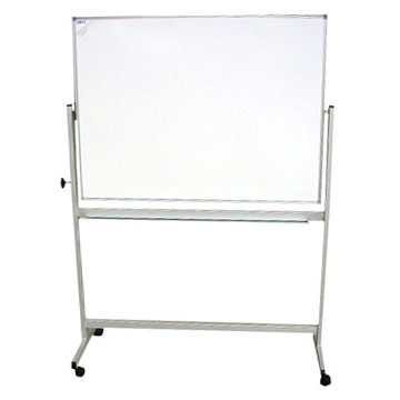 Movable Stand & Revolving Whiteboard ( Dry-wipe Board )