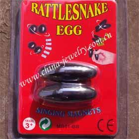 Magnetic Rattlesnake Egg,buzz Magnet