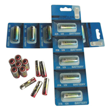 12V Alkaline Batteries