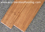 strand woven bamboo flooring, carbonized/coffee