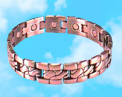 Copper Links Magnetic Bracelet
