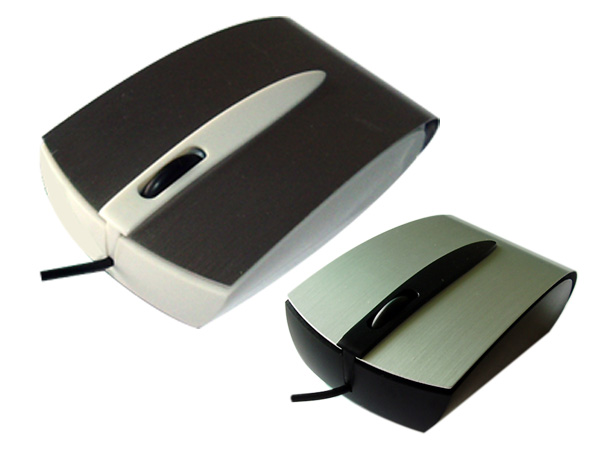 Mini optical mouses with metal cover