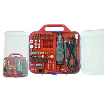 165 Piece Rotary Tools and Accessories Sets