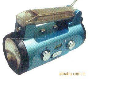 Self-powered Multi-function Flashlight EL-EH698