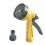 5-PATTERN PLASTIC WATER SPRAY GUN