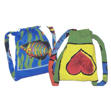 Beach Towel Backpacks