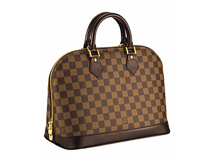 Alma Damier сумка louis vuitton.
