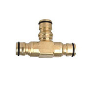Brass T Connector Hose Fitting