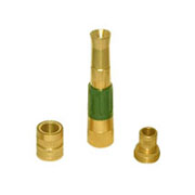 3pcs Brass Nozzle Hose Connector Set