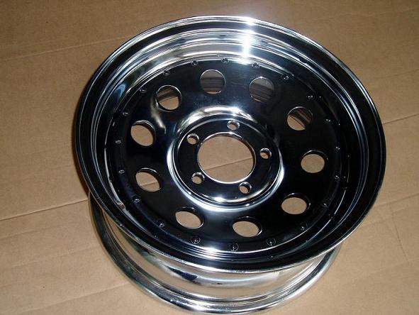 modular chrome wheels