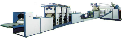 Laminated PP Woven Bag Making Machines (Plastic Lamination)