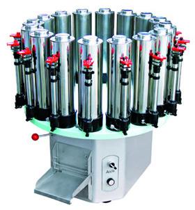 Stainless steel paint dispenser
