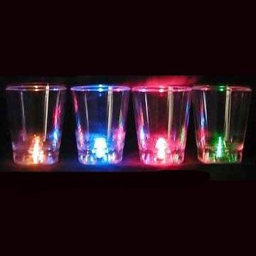 LED Flashing Shot Glass Cup