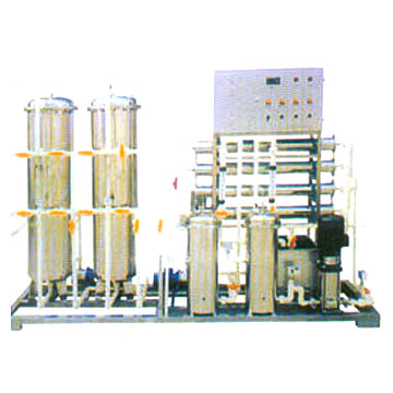 Pure Water Production Line (WT-RO-1-3T-H)