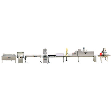 Semi-Automatic Bottling Line For Wine And Waters
