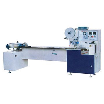 Horizontal Form, Fill and Seal Flow Packing Machine