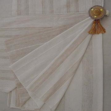 10% Linen 90% Polyester Curtain Fabric