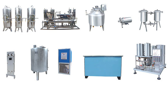 Production Line for Carbonated Water