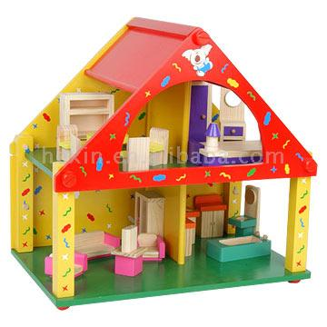 Colorful Doll Houses