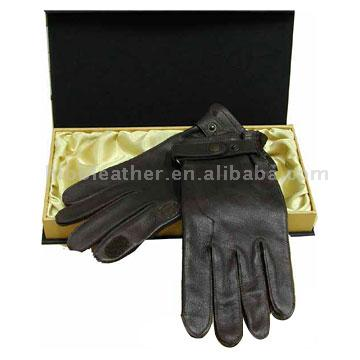 Leather Hunting Gloves