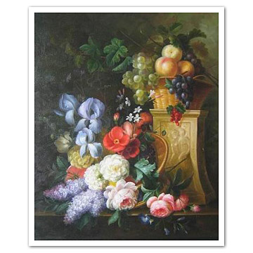 Oil Painting on Canvas - Still Lifes