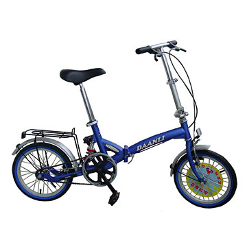 Suspension Folding Bicycles