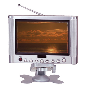 "7.2"" TFT LCD Color TV"