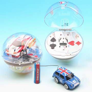 Crystal Ball Mini Cars