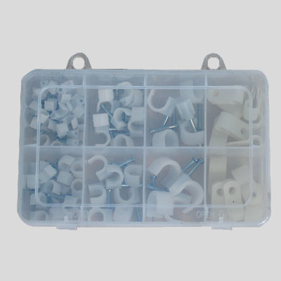 Square Cable Clip Assortment