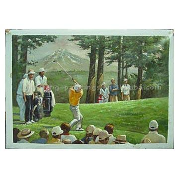 Oil Painting (Golf)