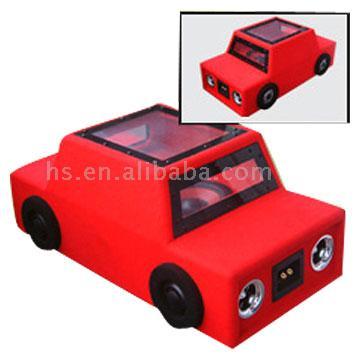 car shape boom box