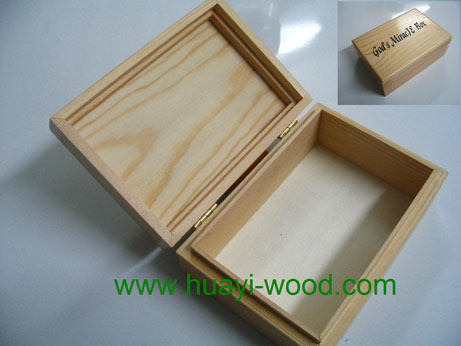 Wood Toy Box, Wooden Gift Boxes