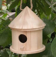 Wood Bird House, Wooden Pet Houses