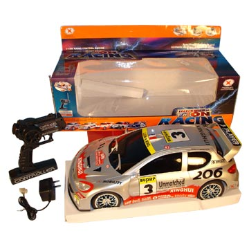 rc car racing video