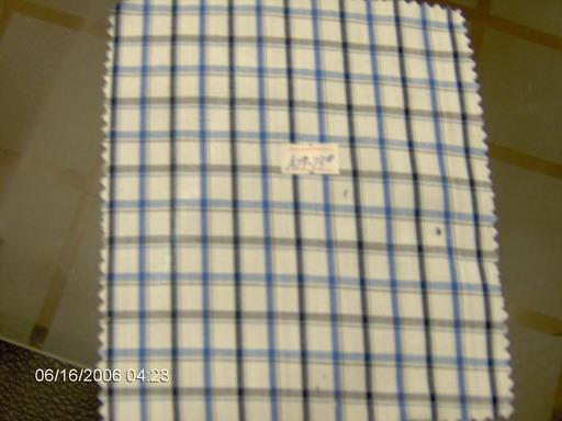 cotton yarn dyed poplin fabric