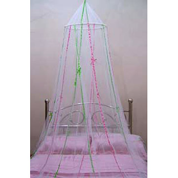 Cirlce Bed Canopy with ribands