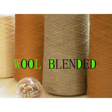 Wool Yarn & Wool Blended Yarn