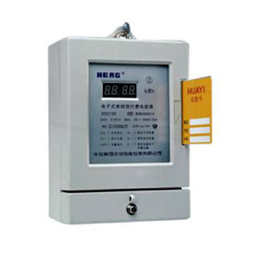 Static IC Card Pre-Payment Watt-Hour Meters