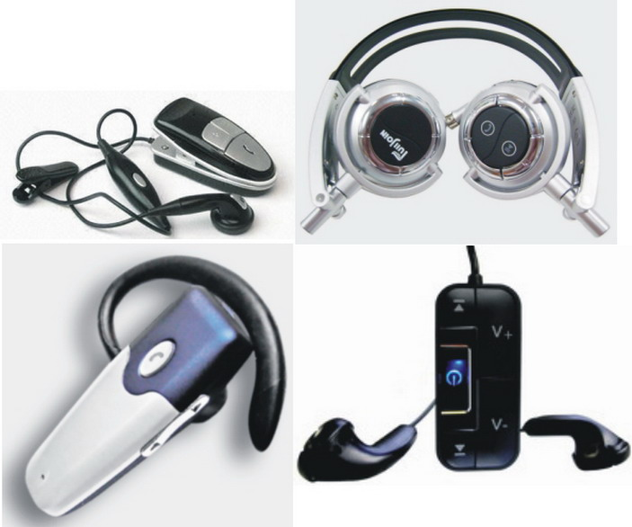 Bluetooth Stereo Headsets with MP3