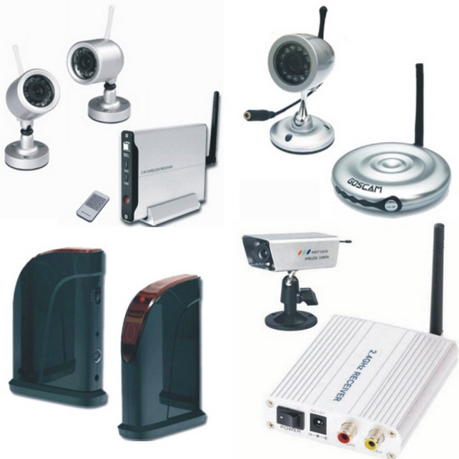 5.8GHz Weather-proof Day/Night Wireless Camera Kit