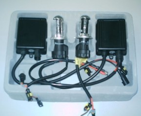 HID xenon conversion kits with 2 HID xenon lamp and 2 ballast