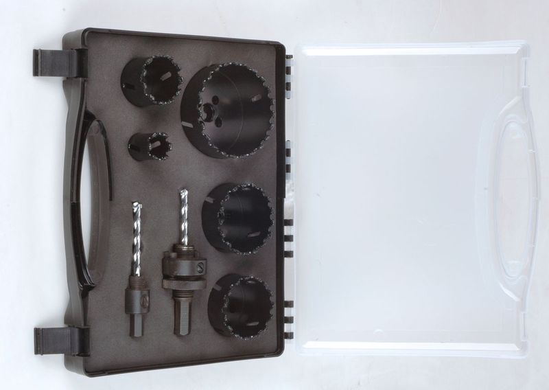 7PC Carbide Coated Hole Saws Set