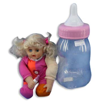 Dolls with Bottle