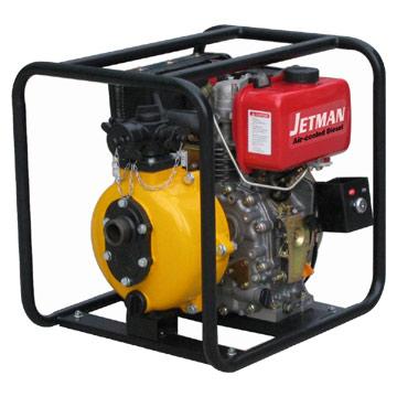 Two-Impellers Diesel Water Pumps