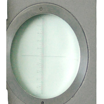 Cloth Inspection Lens With 3-4'' Divider