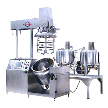 Cream Vacuum Emulsification TZGZ Equipment Sets